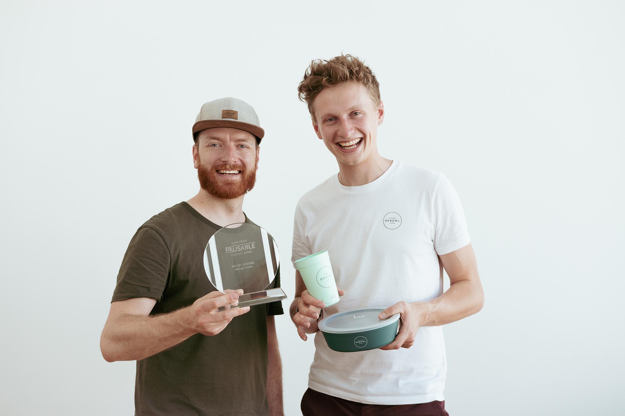 Auszeichnung für Coffee to go MEHRWEGSYSTEM
