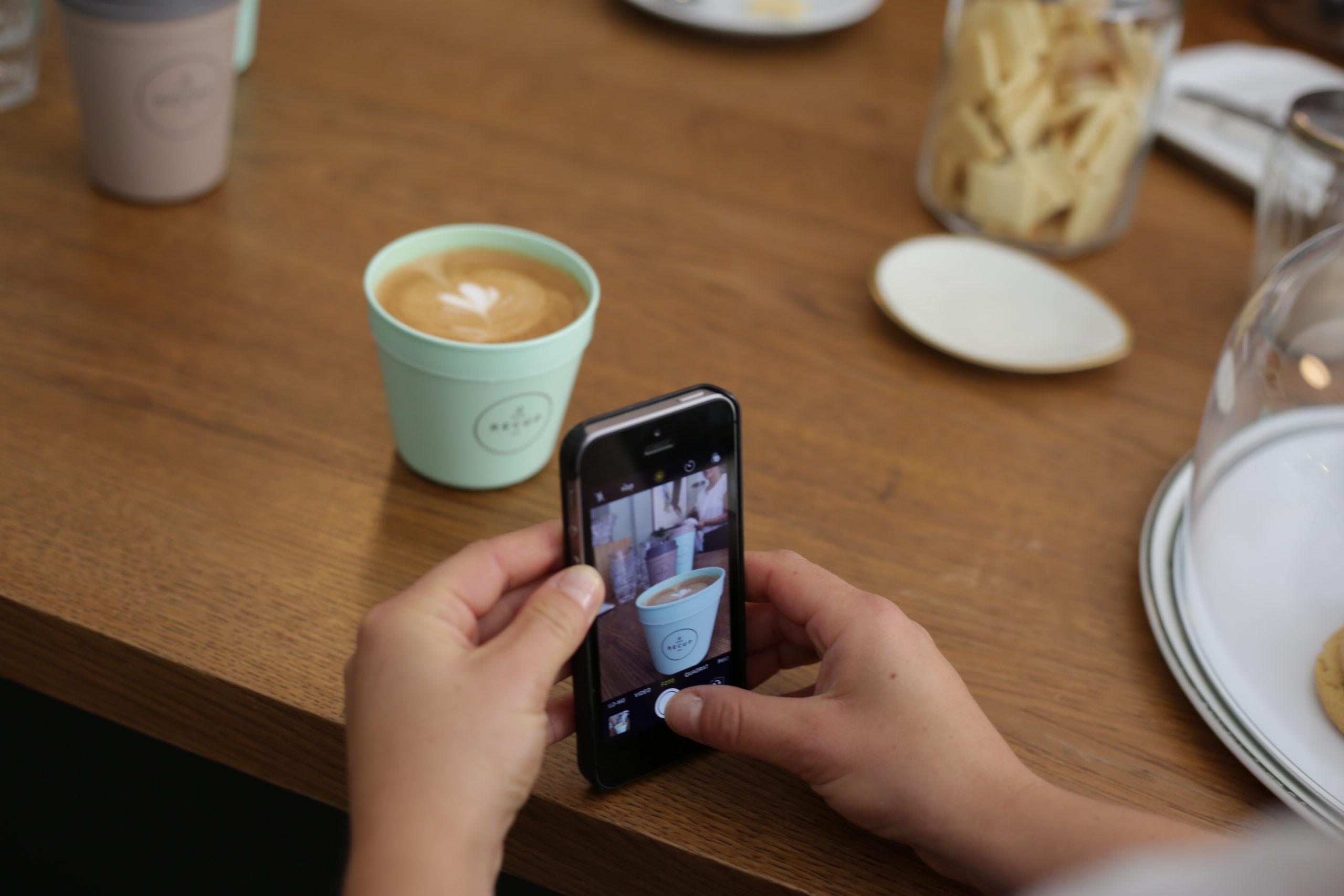 Kaffeebecher kaufen in der Gastronomie