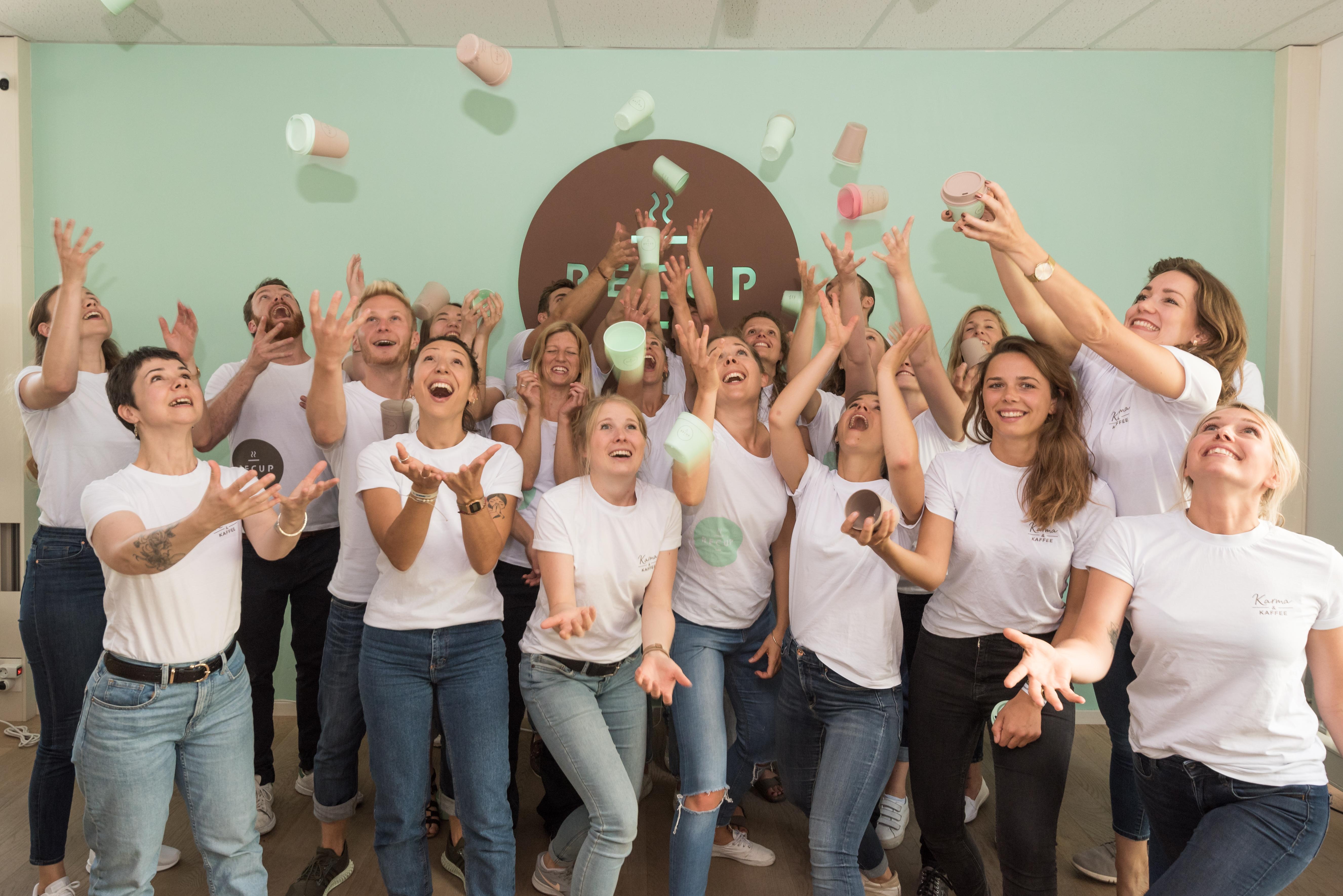 Das RECUP-Team versteht Spaß und ihr Job verbessert die Welt