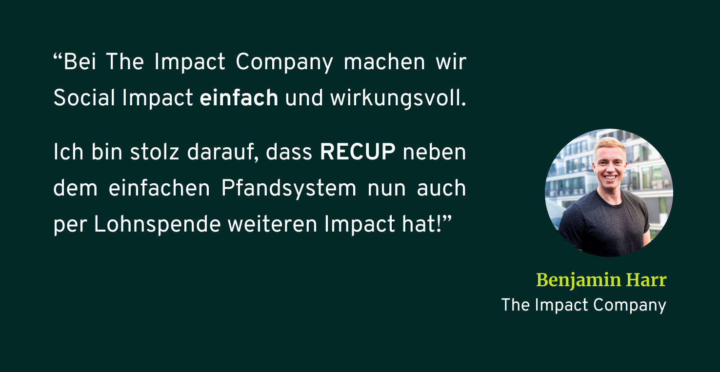 The Impact Company Zitat